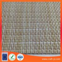 Buy cheap linen color 2X1 weave Textilene mesh fabrics for patio furniture fabric or mats from wholesalers
