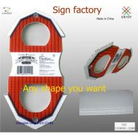 Buy cheap Colorfull corflute signs from wholesalers