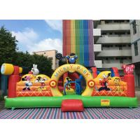 Buy cheap Amusement Disney Mickey Park Inflatable Jumping Bouncer With Hand Printing from wholesalers