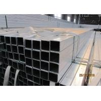 Buy cheap Easy Installation Galvanized Steel Square Tubing 25mm ~ 180mm Optional from wholesalers