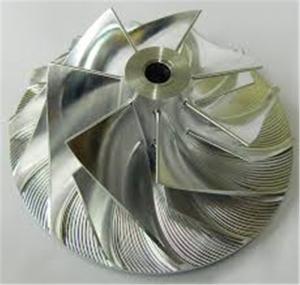 Wholesale Marine Ship Turbo Compressor Wheel , Holset Compressor Wheel Forward Rotation from china suppliers