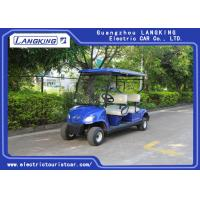 Buy cheap Mini 4 Wheel 4 Person Electric Club Car Golf Carts With 48V Battery Powered from wholesalers