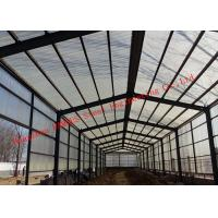 Buy cheap Sandwich Panel Cladding Poultry Steel Framing Systems Structural Steel Construction Shed from wholesalers