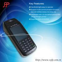Buy cheap 396 mobile pos WinCE POS with fingerprint reader gps from wholesalers