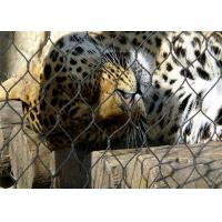 Buy cheap 7*7 Stainless Steel Animal Enclosure Mesh , Bird Enclosure Netting For Zoo product