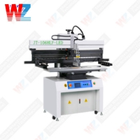 Buy cheap SMT 100W 6kg/Cm Semi Automatic Screen Printing Machine from wholesalers