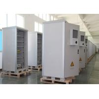 Buy cheap Ip55 Metal Electrical Outdoor Battery Cabinet , Plant Power Outdoor Cabinet from wholesalers
