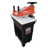 Buy cheap 20T/25T Hydraulic Swing Arm Die Cutting Press/clicking machine from wholesalers
