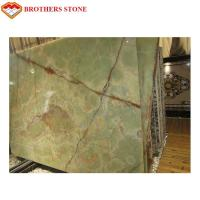 Buy cheap Customized Size Jade Onyx Slab , Green Onyx Marble Big Slab For Coffee Table product