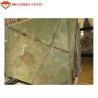 Buy cheap Amazing Light Green Jade Onyx Slab , Ornament Light Green Jade Stone Panels from wholesalers