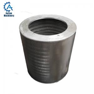 Wholesale Stainless steel Screen Cylinder wedge wire pressure screen basket from china suppliers