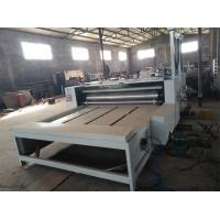 Buy cheap 2 Colors Print And Die Cut Production Line For Corrugated Boxes Printing from wholesalers