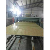 China WPC Marble Wall Panel Extrusion Line , PVC Marble Plastic Panel Production Line on sale