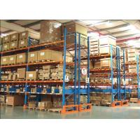 Buy cheap Anti Corrosion Industrial Pallet Racks Heavy Duty Warehouse Racking Shelving from wholesalers