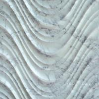 Wholesale 3D Natural Feature Carved White Carrara Stone Wall Art Panels from china suppliers