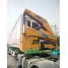 Buy cheap Heavy Duty Truck Mounted Hydraulic Crane , 37 Tons Truck Hoist Crane from wholesalers