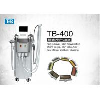 Buy cheap Multifunction Super Vertical E-light IPL RF SHR Hair Removal Machine / Nd Yag Laser System from wholesalers