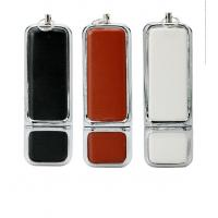 Buy cheap Personalized Leather USB Flash Drive Promotional Gift   2GB 4GB 8GB Customized from wholesalers