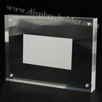 Buy cheap Magnet acrylic picture frame in several sizes from wholesalers