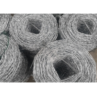 Buy cheap 25kg Roll Galvanized Steel Cyclone Barbed Wire For Electro Fencing from wholesalers