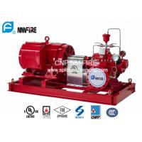 China Firefighting Electric Motor Driven Water Pump Set 1250GPM With Split Case Fire Pump on sale