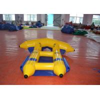 Buy cheap Digital Printing Inflatable Water Games Boat  2.97 X 2.7m Durable PVC Tarpaulin from wholesalers