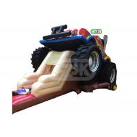 Buy cheap Large Monster Truck Inflatable Jumping Bouncy Castle For Kids And Adults from wholesalers
