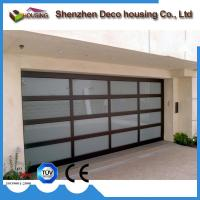 Buy cheap Modern design automatic overhead folding sectional glass garage door prices from wholesalers