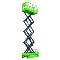 Buy cheap Hydraulic Motor Drive Self Propelled Scissor Lift Table 10m High Aerial Work Platform from wholesalers