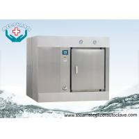 Buy cheap Animal Care Horizontal Autoclave With Bio-shield Barrier Hermetically Seals from wholesalers