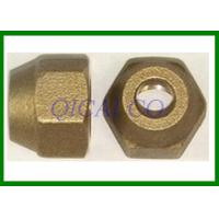 Buy cheap Bronze Brass nut / bolt , customize all kinds of machine components from wholesalers