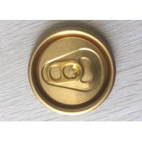 Buy cheap Easy Open End Aluminum Can Lids Cap 200 202 206# Aluminum Alloy 5182 Material from wholesalers