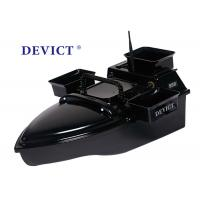 RC model Black DEVICT Bait Boat Style Remote Frequency 2.4G DEVC-200