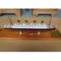 Buy cheap High Simulation Cruise Ship Toy Models R.M.S. Olympic  Cruise Ship Shaped from wholesalers