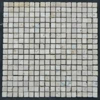 Buy cheap unique 10mm square bathroom mosaic tile for floor from wholesalers