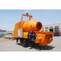 Buy cheap JBT30 concrete pump with mixer with 450L mixing drum and 30m3/hr pumping capacity on hot selling from wholesalers
