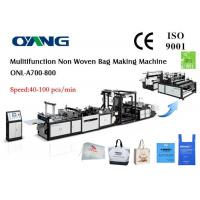 Wholesale Ultrasonic Sealing Non Woven Bags Manufacturing Machine For D Cut / T Shirt / Handle Bag from china suppliers