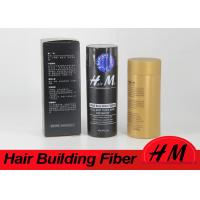 Buy cheap 30g Hair Powder Instant Hair Thickening Fiber Make Private Brand OEM Black Brown Blonde from wholesalers