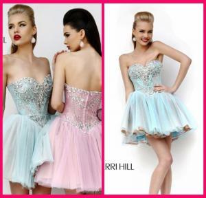 Buy cheap Light Blue Homecoming Dress Sweetheart Mini Short Beading Appliques Zipper from wholesalers