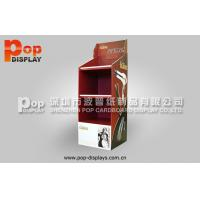 China Hair Styling Tools Floor Corrugated Pop Display With 4C Printing For Exhibition on sale