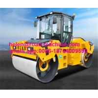 Buy cheap Unique Heavy Construction Machinery , XCMG 12 Ton Double Drum Vibration Roller Mount Type XD123 from wholesalers