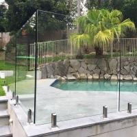 Buy cheap High Quality Tempered Glass Swimming Pool Fence Philippines Price from wholesalers