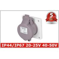 Indoor 32 Amp Industrial Power Socket / Single Phase Outlets IP44 Manufactures