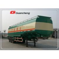 Buy cheap CCC ISO Fuel Tanker Trailer with 45000 liters loading capacity from wholesalers