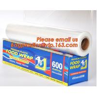 Buy cheap Newly design household food grade excellent quality factory price cling film, pe food plastic wrap from wholesalers