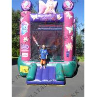 Buy cheap Mini Inflatable Bouncer Scratch-resistant Backyard Bouncing Games from wholesalers