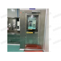 Buy cheap 25m/s 3 Side Air Shower Booth , 50Hz 2 Filters 1500mm Width Cleanroom Air Shower from wholesalers