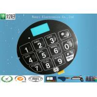 Wholesale Blue LCD Window FPC Membrane Switch With 3M468 Back Adhesive Matte Finish from china suppliers