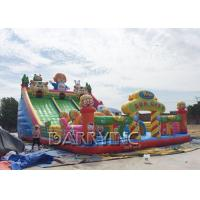 Buy cheap Digital Printing PVC 0.55mm Large Inflatable Slides For Kids / Adult CE from wholesalers