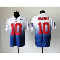 Buy cheap NFL New York Giants 10 Manning Drift Fashion II white blue jersey from wholesalers